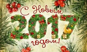 Поздравляю всех с Новым 2017 годом!